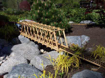 Howe Truss Bridge